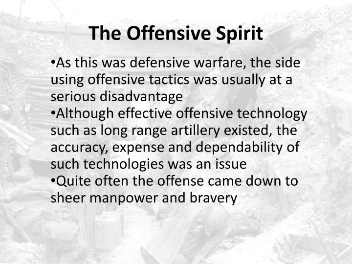 The Offensive Spirit