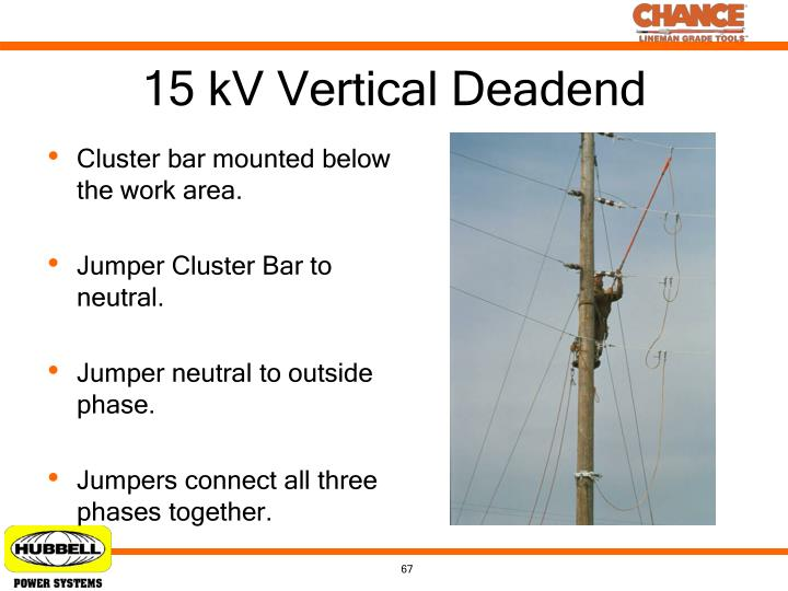 15 kV Vertical Deadend