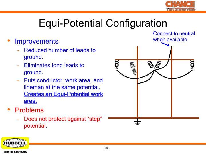 Equi-Potential Configuration