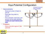 equi potential configuration