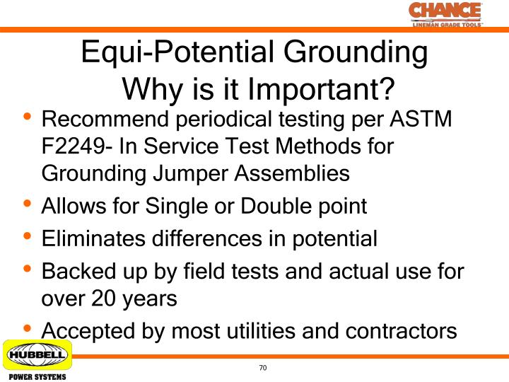Equi-Potential Grounding