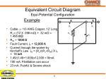 equivalent circuit diagram equi potential configuration