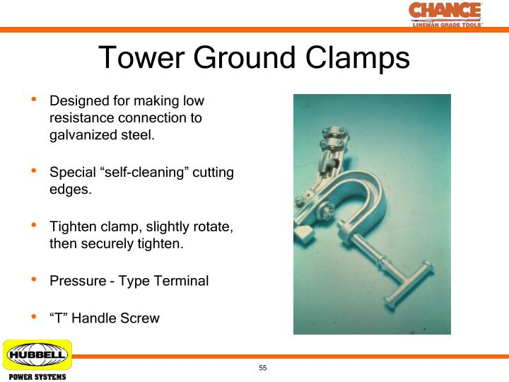 Tower Ground Clamps
