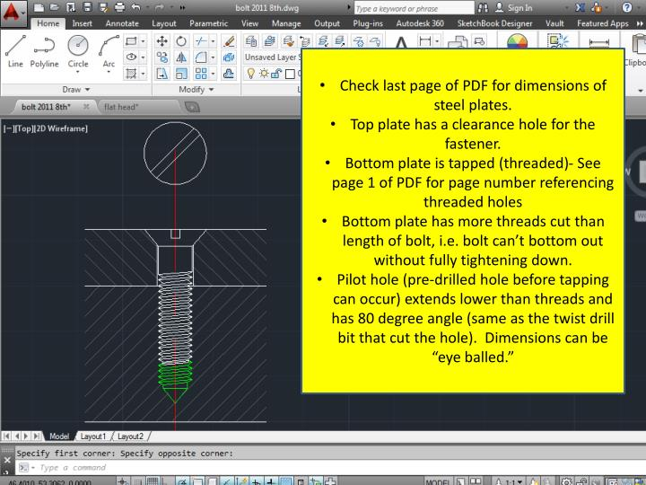 Check last page of PDF for dimensions of steel plates.