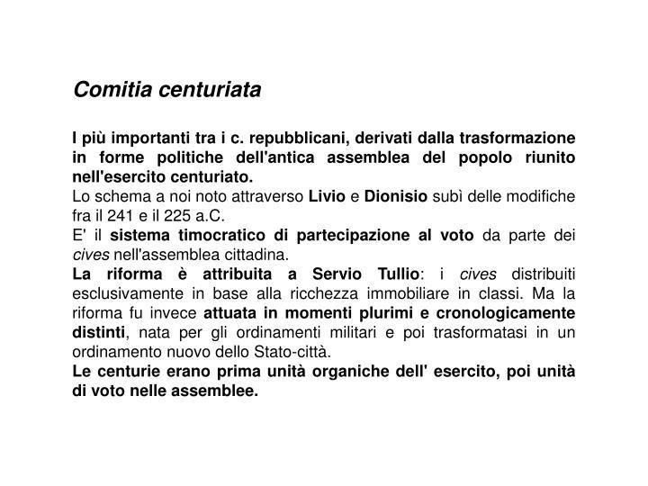 Comitia