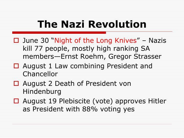 The Nazi Revolution