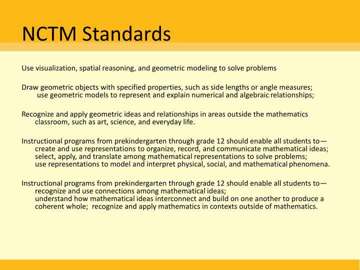NCTM Standards