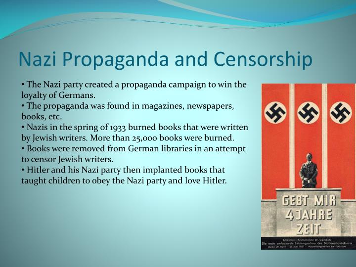 Nazi Propaganda and Censorship