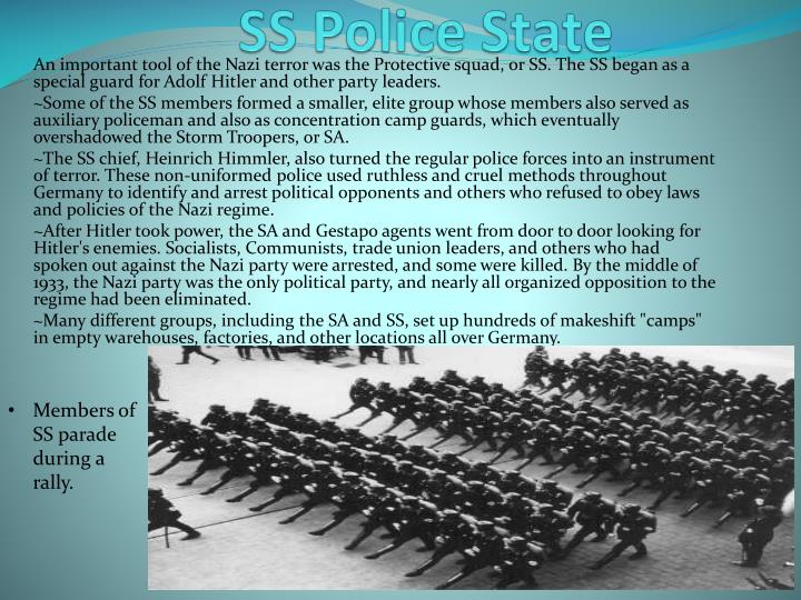SS Police State
