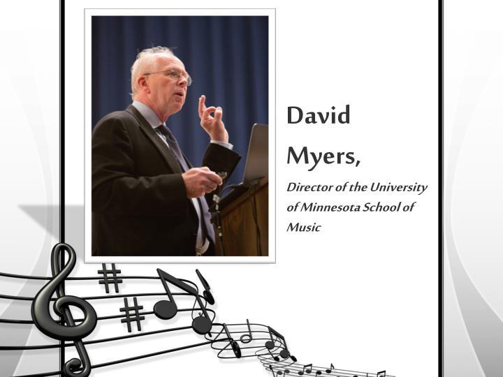 David Myers,