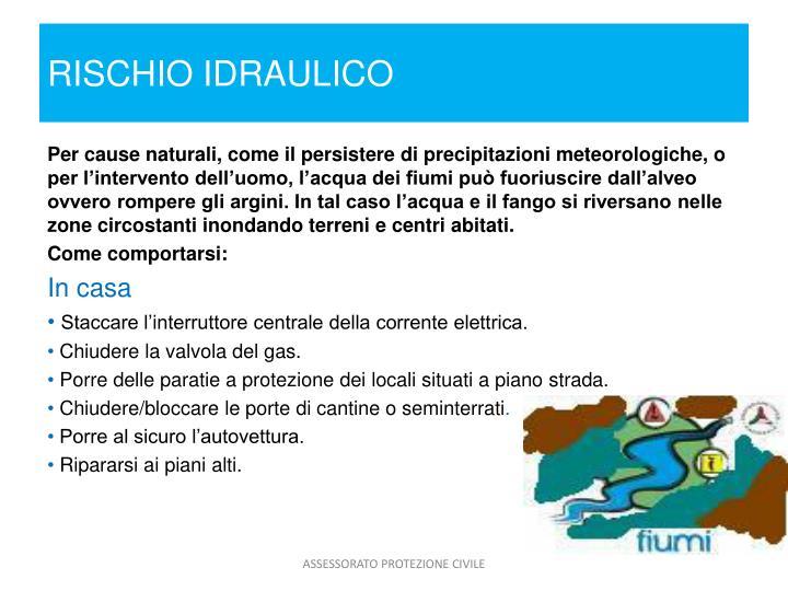 RISCHIO IDRAULICO