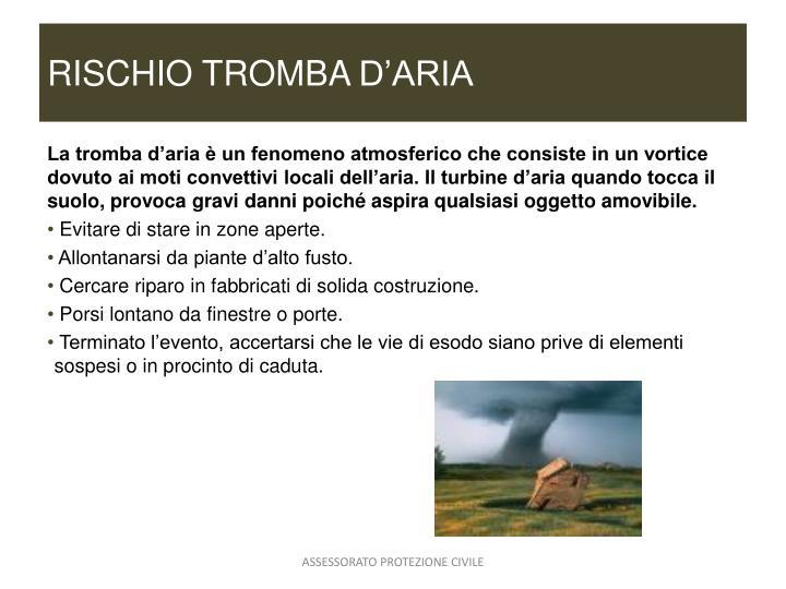 RISCHIO TROMBA
