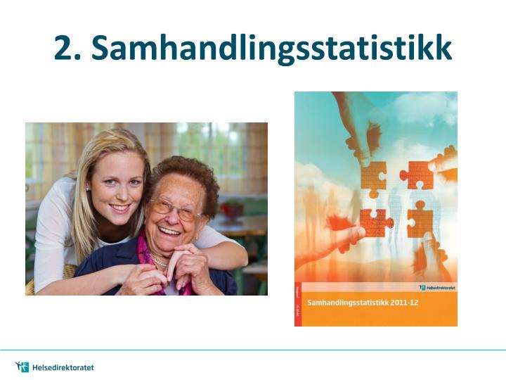 2. Samhandlingsstatistikk
