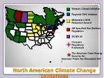 north american climate change initiatives