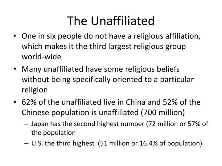 The Unaffiliated