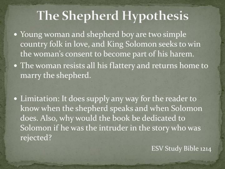 The Shepherd Hypothesis