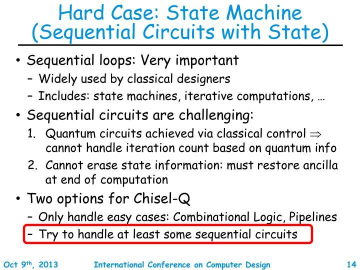 Hard Case: State Machine