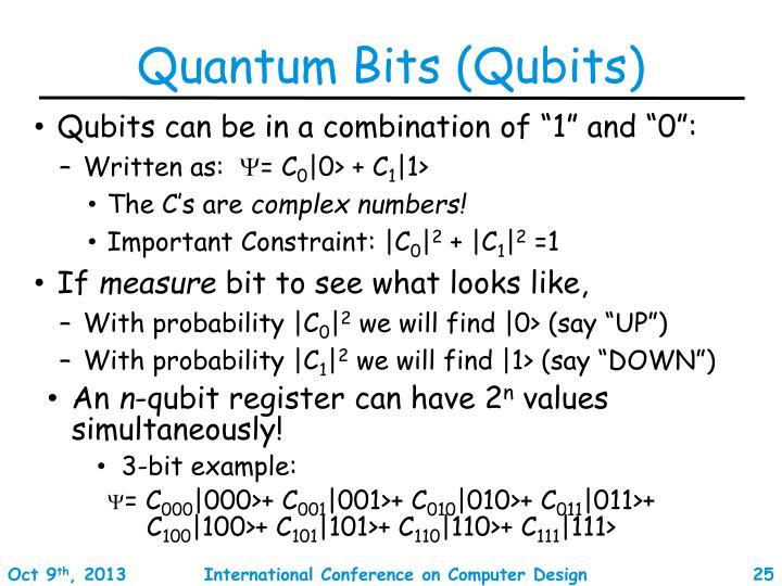 Quantum Bits (