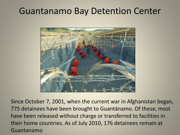 Guantanamo Bay Detention Center