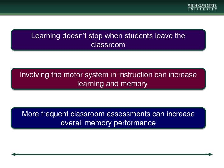 Learning doesn't stop when students leave the classroom