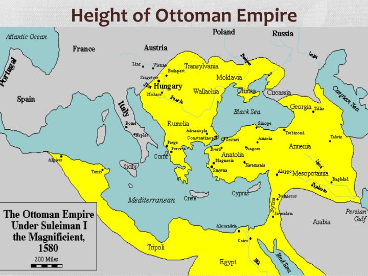 Height of Ottoman Empire