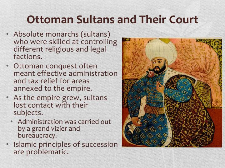 Ottoman Sultans and Their Court