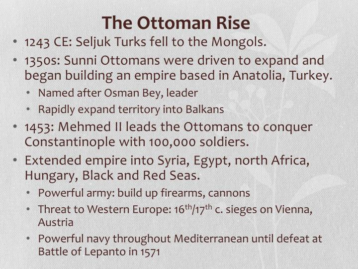 The Ottoman Rise