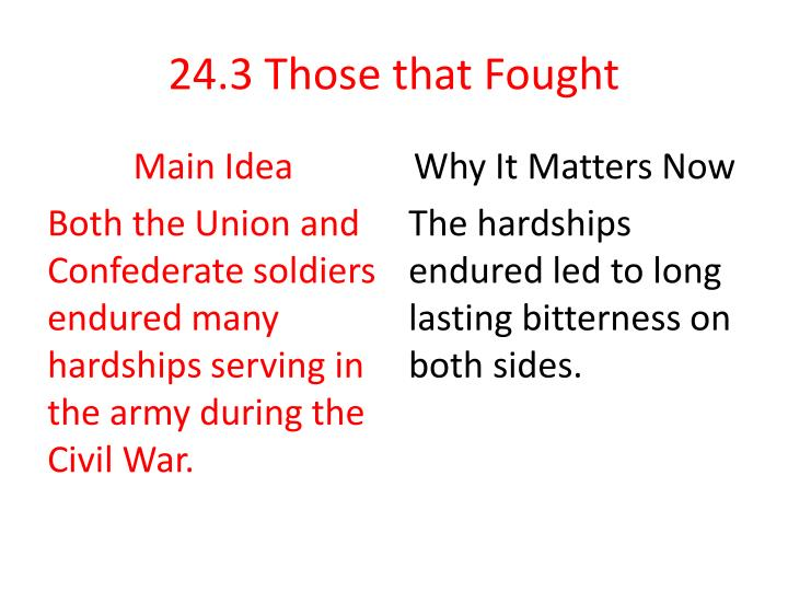 24 3 those that fought