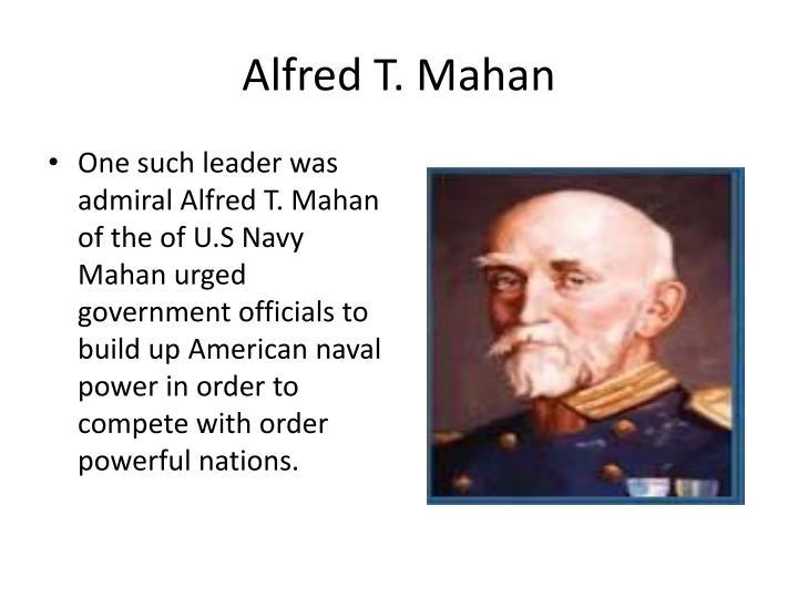 Alfred T. Mahan
