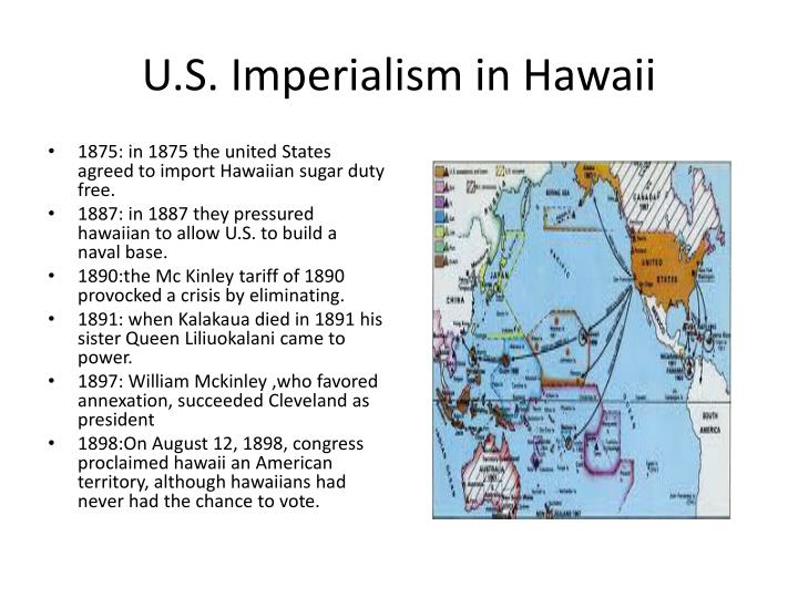 U.S. Imperialism in Hawaii
