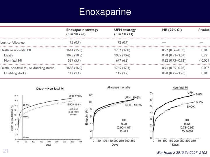Enoxaparine