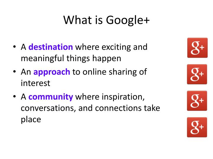 What is Google+