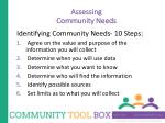 assessing community needs3