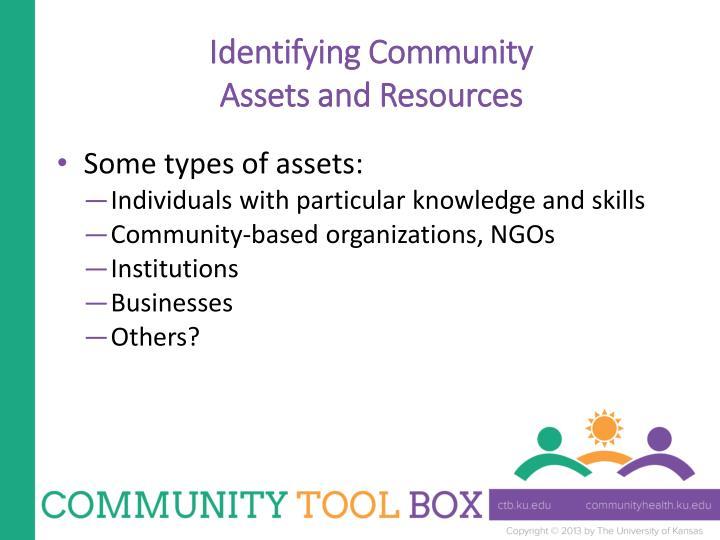 Identifying Community