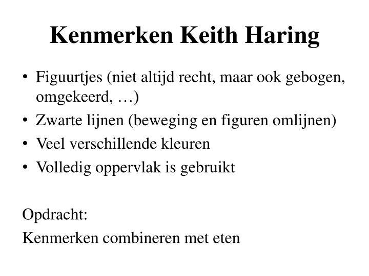 Kenmerken Keith Haring