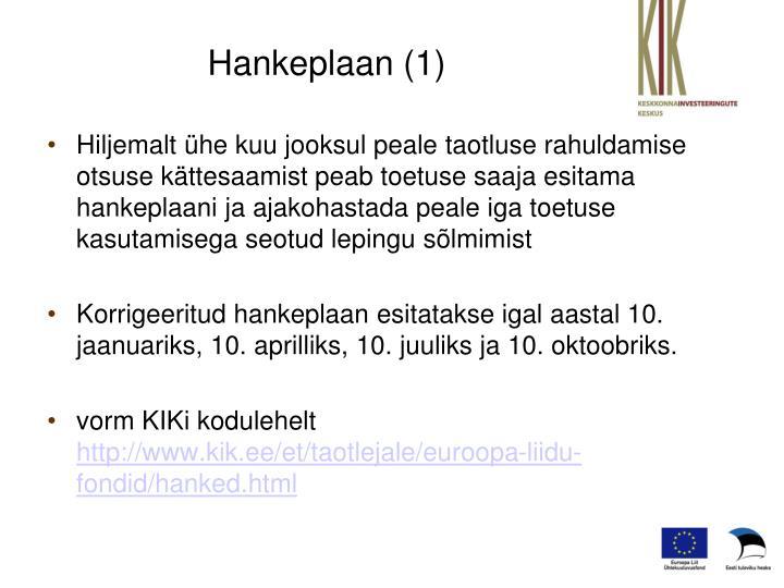 Hankeplaan (1)