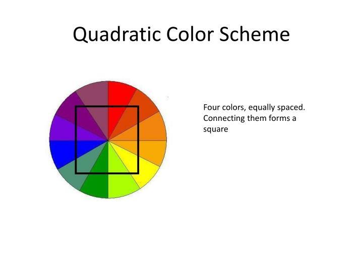 Quadratic Color Scheme