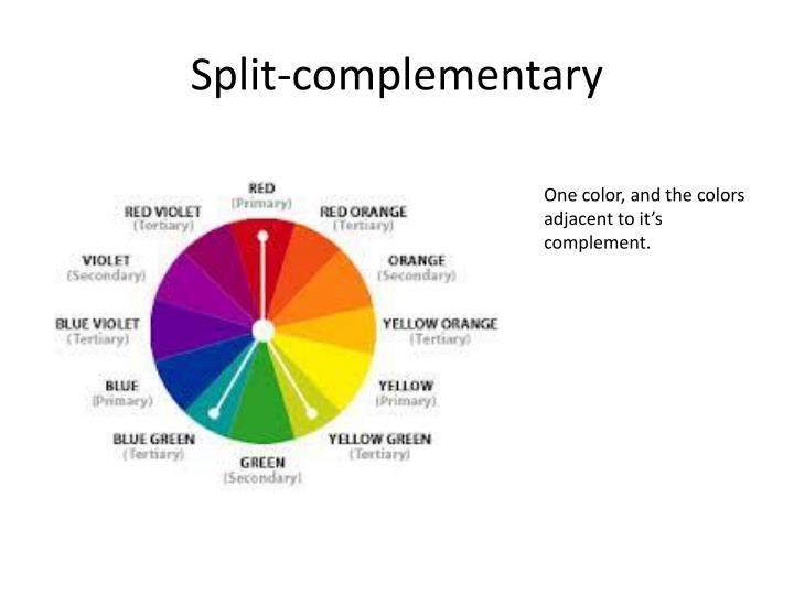 Split-complementary