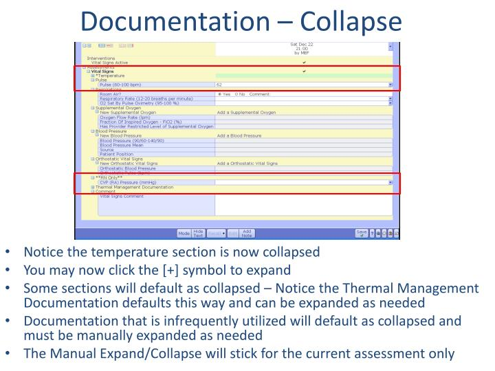Documentation – Collapse