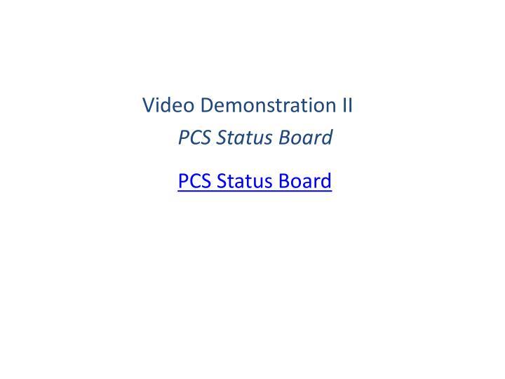 Video Demonstration II