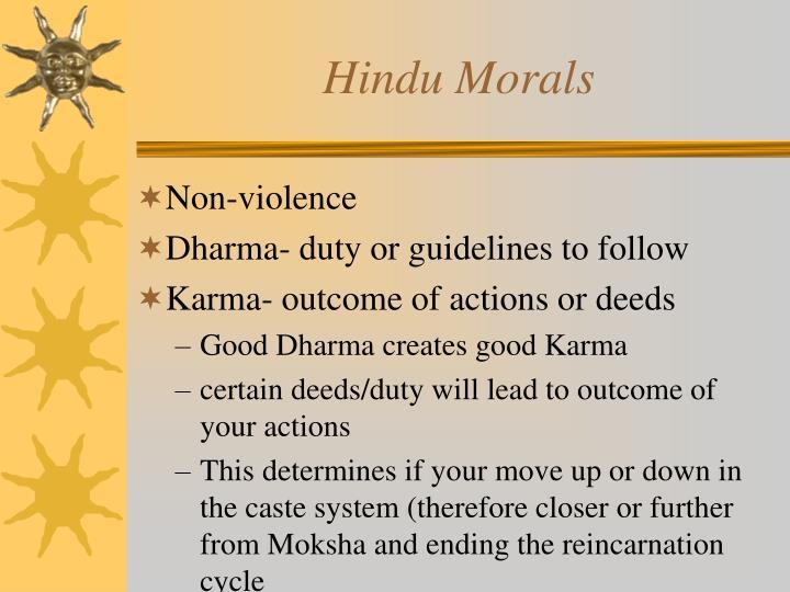 Hindu Morals