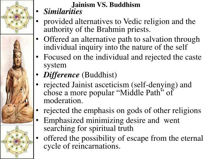 Jainism VS. Buddhism