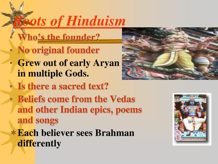 Roots of Hinduism