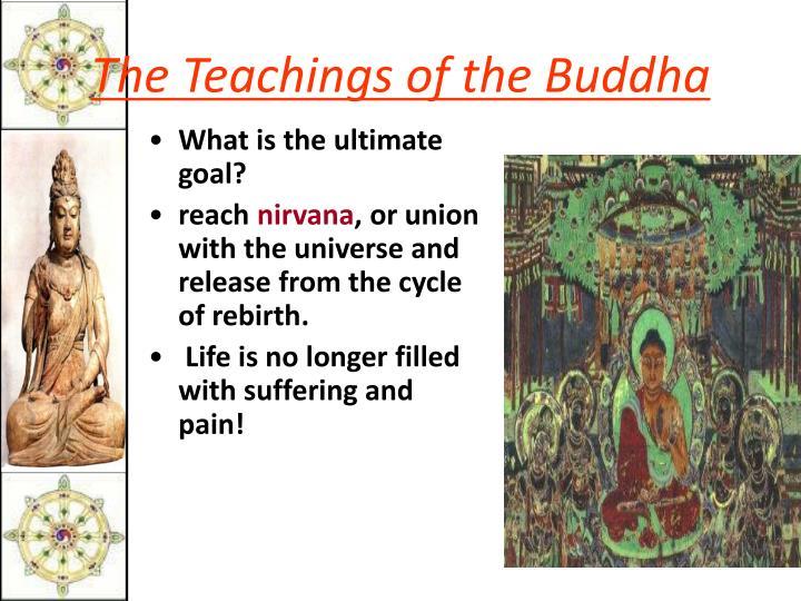 The Teachings of the Buddha