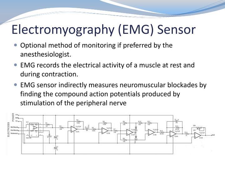 Electromyography (EMG) Sensor