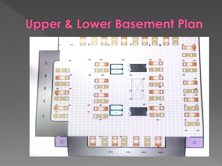 Upper & Lower Basement Plan