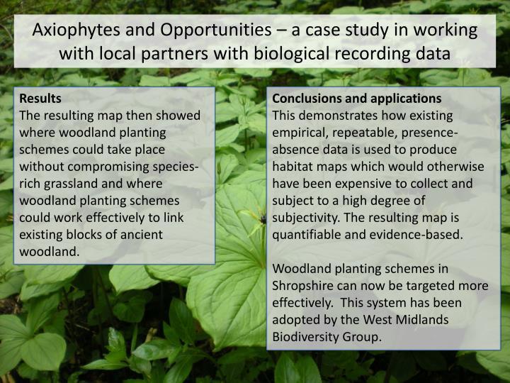 Axiophytes