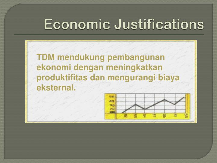 Economic Justifications