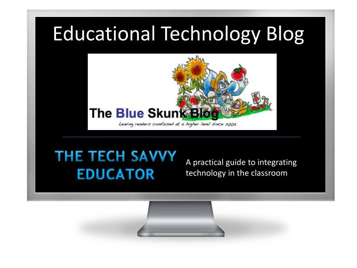 Educational Technology Blog