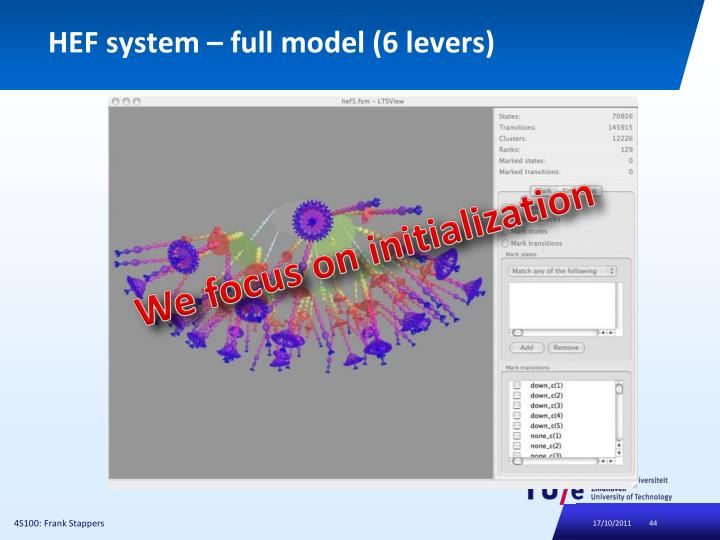 HEF system – full model (6 levers)